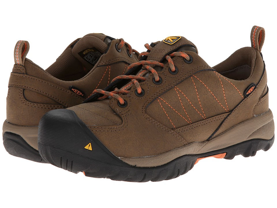 Keen Utility - Mesa ESD (Shitake/Arabesque) Women's Work Lace-up Boots