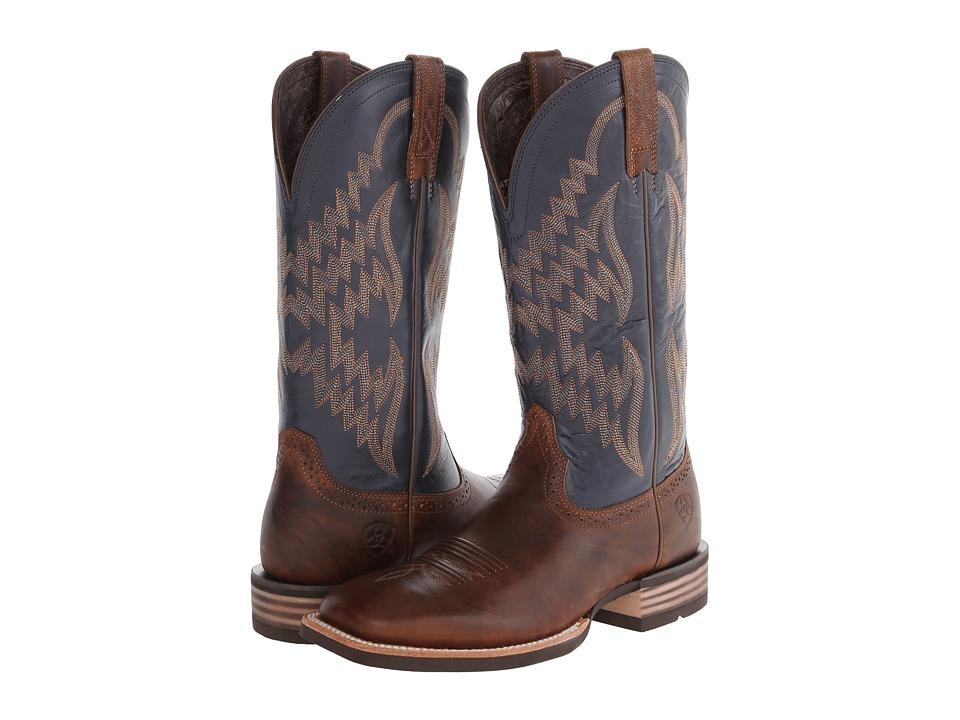 Ariat - Tycoon (Bar Top/Arizona Sky) Cowboy Boots