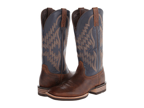 Ariat - Tycoon (Bar Top/Arizona Sky) Cowboy Boots