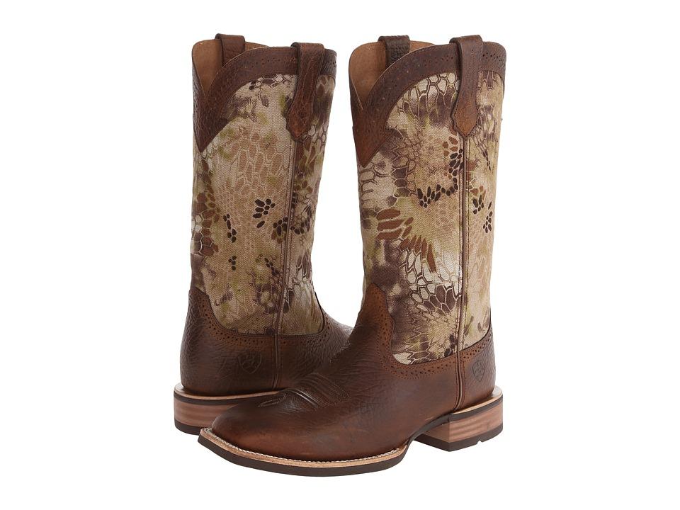 Ariat - Quickdraw Kryptek (Earth/Highlander) Cowboy Boots