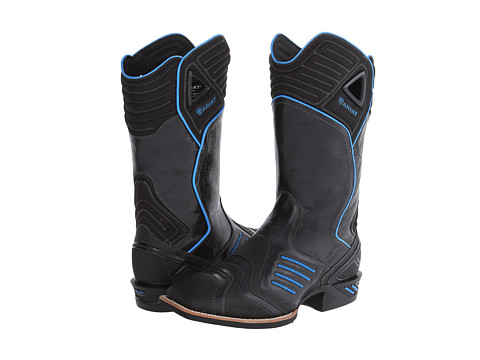Ariat - Catalyst VX Wide Square Toe (Thunder Black) Cowboy Boots