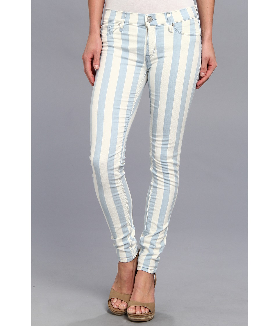 Hudson - Krista Super Skinny Stripe in Liberated (Liberated) Women's Jeans