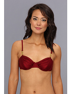 SALE! $26.99 - Save $33 on MINKPINK Avalon Toggle Bra Cup Top (Red Clay) Apparel - 55.02% OFF $60.00