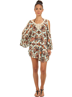 SALE! $67.99 - Save $86 on MINKPINK Jewel Illusion Crochet Kaftan Cover Up (Multi) Apparel - 55.85% OFF $154.00