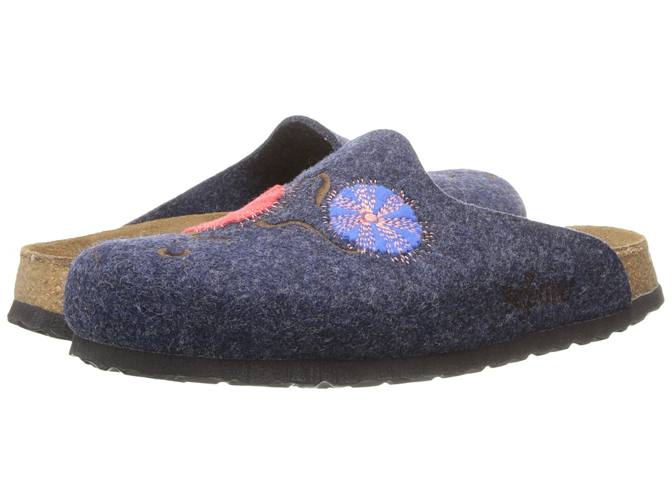 Birkenstock - Helsinki (Poppy Blue Felt) Women's Shoes