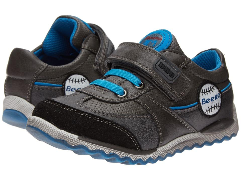 Beeko - Julian II (Toddler) (Grey) Boys Shoes