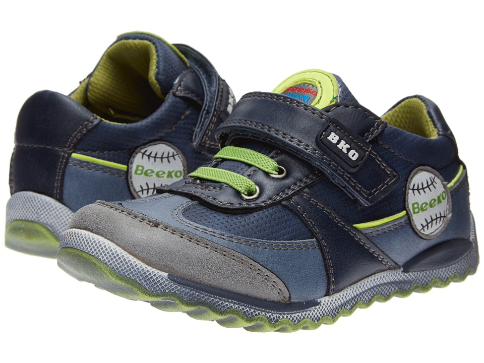 Beeko - Julian II (Toddler) (Navy) Boys Shoes