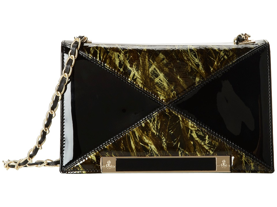 Vivienne Westwood - Sophia Handbag w/ Chain (Black) Handbags