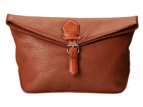 Vivienne Westwood - Cassis Large Clutch (Brown) Clutch Handbags