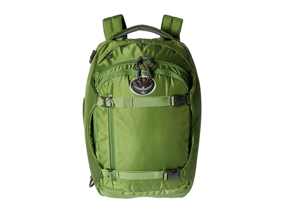 Osprey - Porter 46 (Nitro Green) Backpack Bags