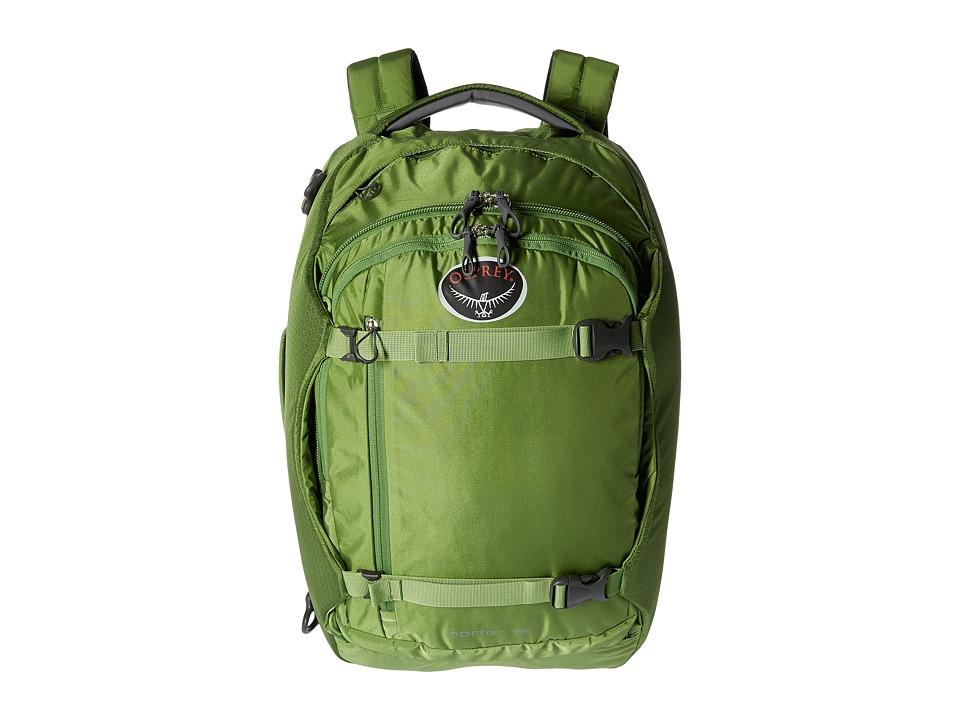 Osprey - Porter 46 (Nitro Green) Backpack Bags