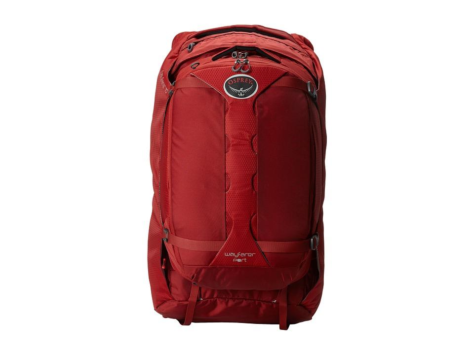 Osprey - WayFarer 70 (Garnet Red) Backpack Bags