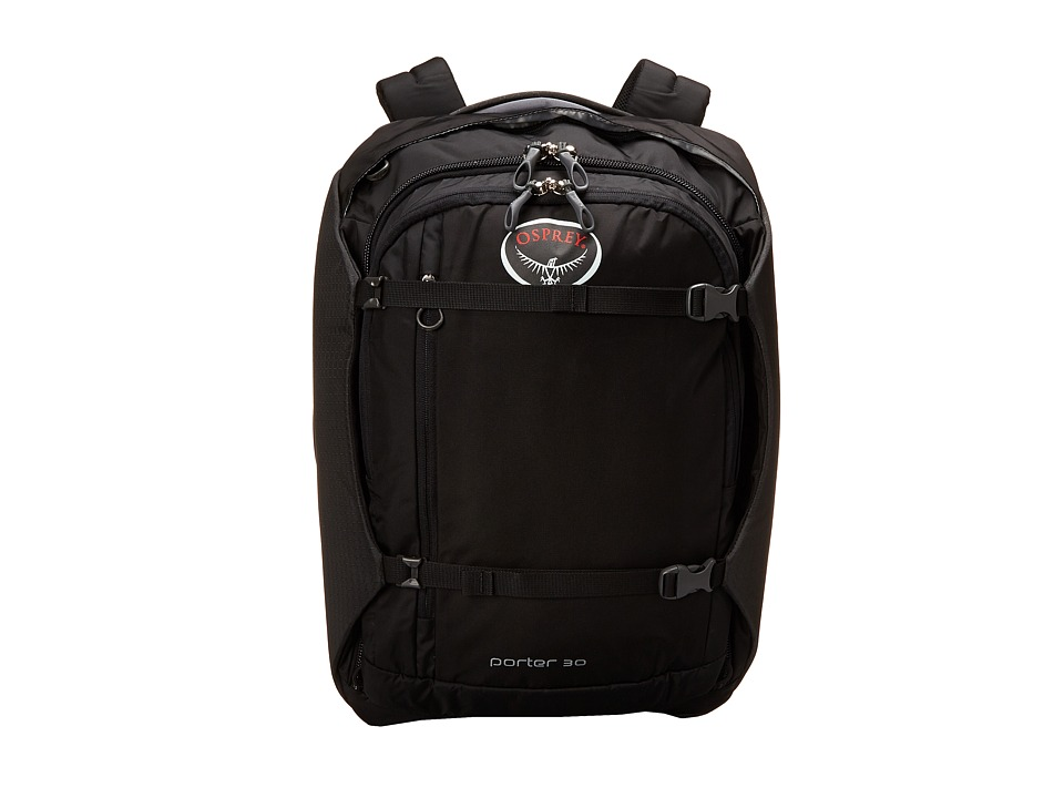 Osprey - Porter 30 Pack (Black) Backpack Bags