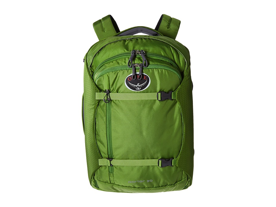 Osprey - Porter 30 Pack (Nitro Green) Backpack Bags