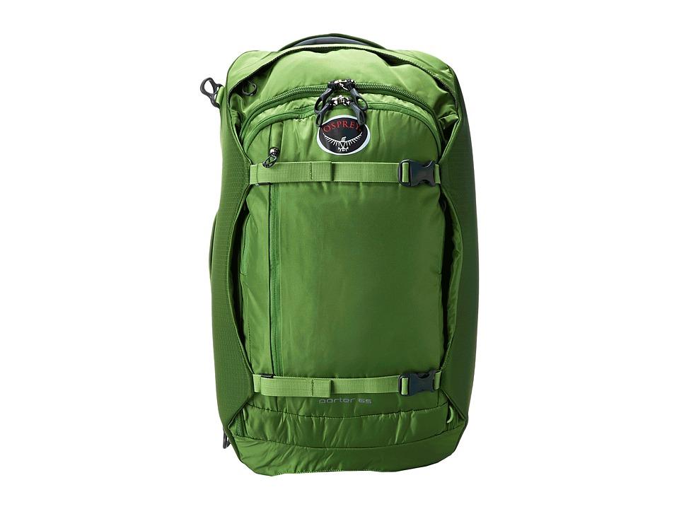 Osprey - Porter 65 (Nitro Green) Backpack Bags