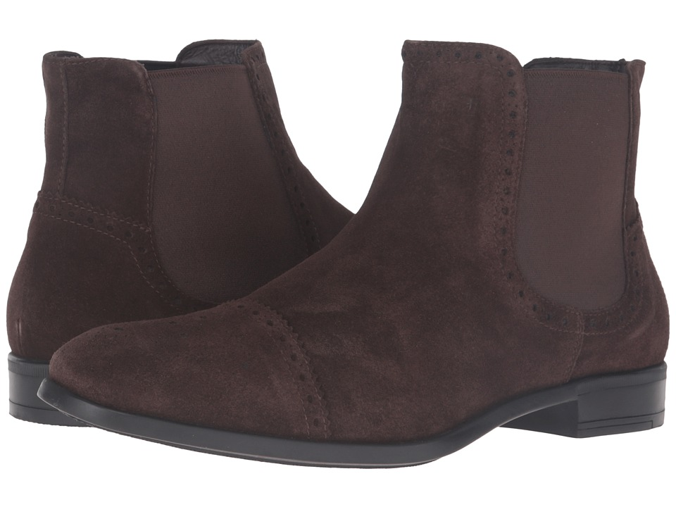 Bruno Magli - Saltro (Dark Brown Suede) Men