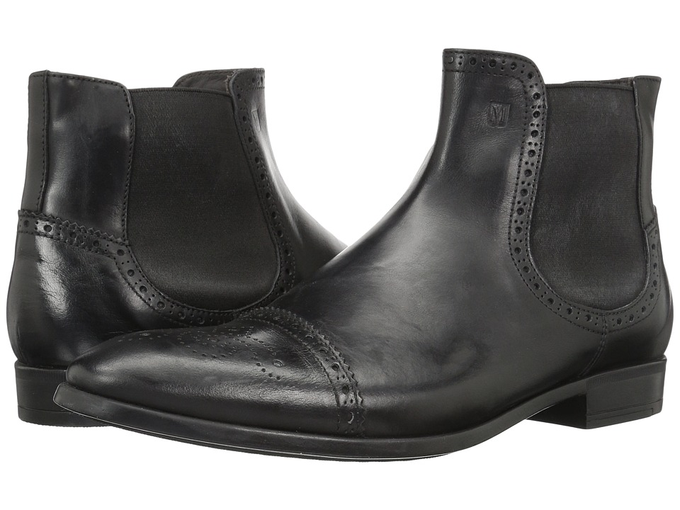 Bruno Magli - Saltro (Black Calf/Pebbled) Men