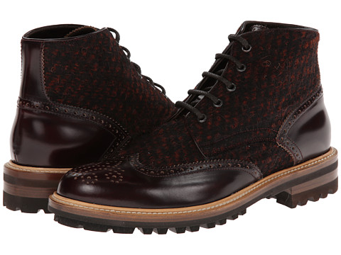 DSQUARED2 - Othello Ankle Boot (Bordeaux) Men
