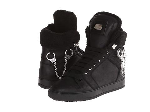 DSQUARED2 - Ciro High Top Sneaker (Black) Men
