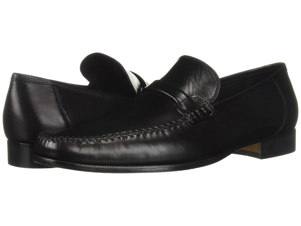 Bruno Magli - Porro (Black Nappa Lea) Men's Slip-on Dress Shoes