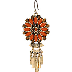 SALE! $17.99 - Save $17 on Lucky Brand Floral Paddle Drop Earring (Gold) Jewelry - 48.60% OFF $35.00