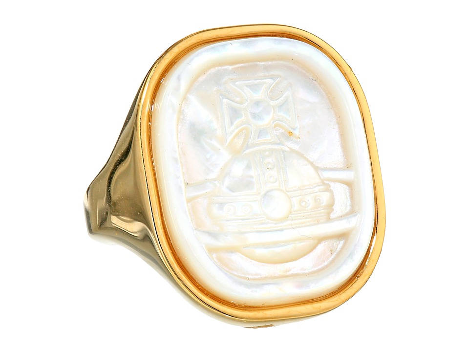 Vivienne Westwood - Gerlinde Ring (White Mop) Ring