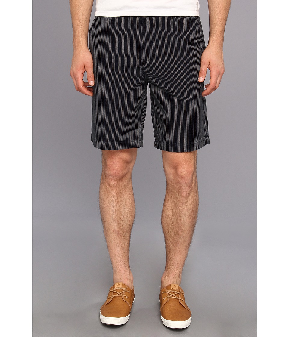 Paige - Thompson Short in Indigo Stripe (Indigo Stripe) Men's Shorts