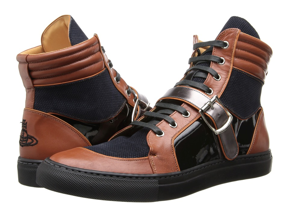 Vivienne Westwood Runway High Trainer (Tan Multi) Men
