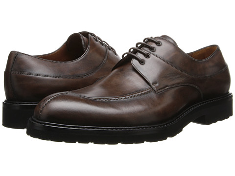 a. testoni - Scoiattolo Antique Calf Oxford w/ Lug Sole (Brown) Men
