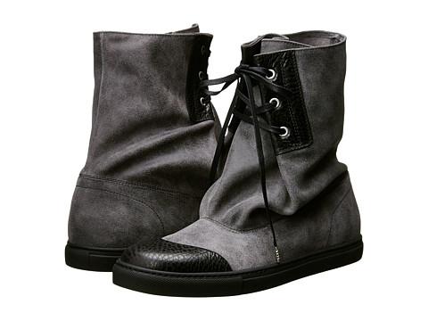 Vivienne Westwood - Suede Slouch Boot (Ash) Men's Boots