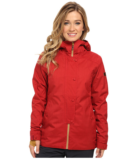 DC - Data 15 J Snowboarding Jacket (Rio Red) Women