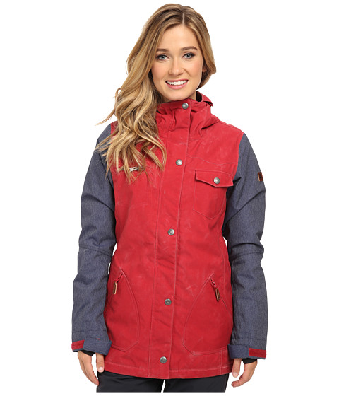 DC - Falcon J Snowboarding Jacket (Rio Red) Women's Jacket