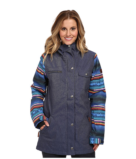 DC - Falcon J Snowboarding Jacket (Dress Blue) Women's Jacket