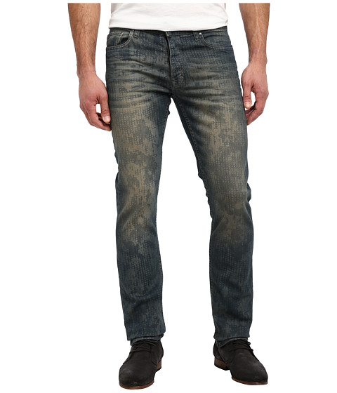 Calvin Klein Jeans - Slim in Distressed Camo (Distressed Camo) Men