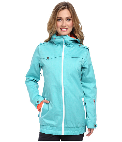 DC - Riji 15 J Snowboarding Jacket (Ceramic) Women's Jacket
