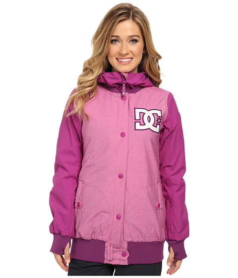 DC - Squad 15 J Snowboarding Jacket (Holly Hock) Women