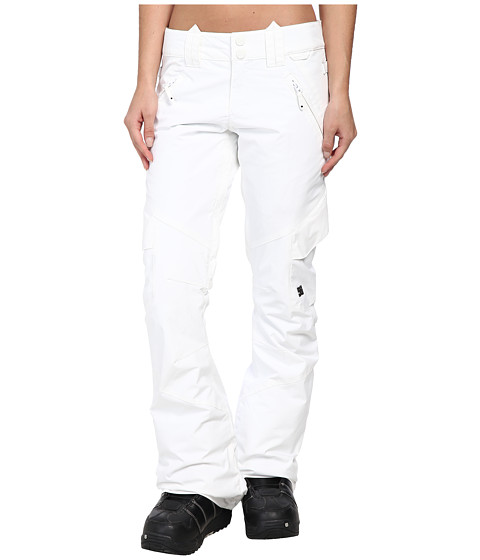 DC - Lace 15 Snowboarding Pant (Bright White) Women's Outerwear