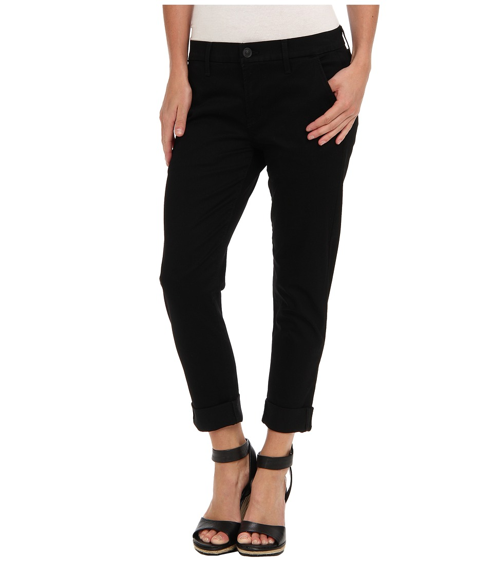 Hudson Jamie Slim Chino Sateen in Black Knight (Black Knight) Women