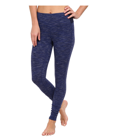 Lucy - Perfect Core Legging (Ultramarine Spacedye Stripe) Women's Workout