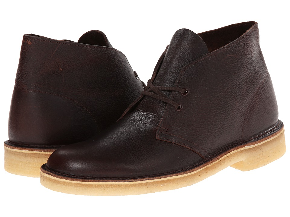 Clarks Desert Boot (Brown Tumbled Leather) Men