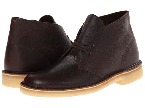 Clarks - Desert Boot (Brown Tumbled Leather) Men