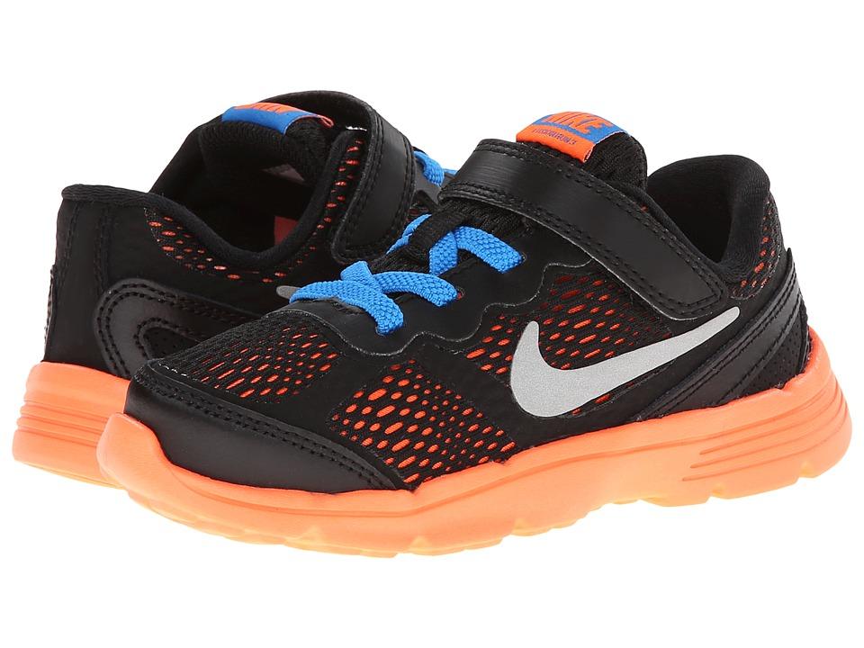 Nike Kids - Fusion Run 3 (Infant/Toddler) (Cool Grey/Wolf Grey/Photo Blue/Hyper Crimson) Boys Shoes