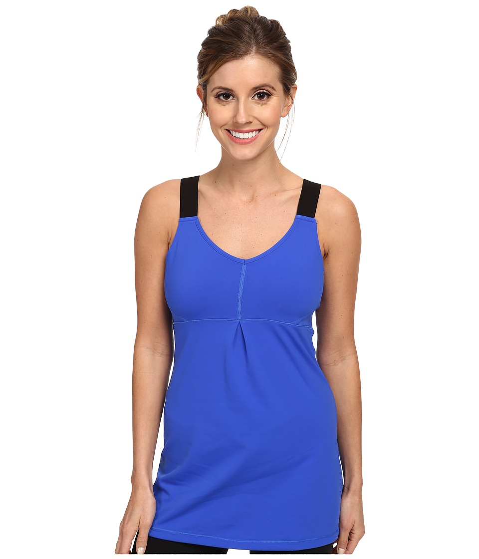 Lucy - Perfect Pose Tunic (Brillant Blue) Women's Workout plus size,  plus size fashion plus size appare