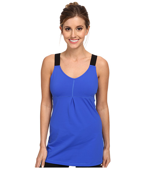 Lucy - Perfect Pose Tunic (Brillant Blue) Women's Workout