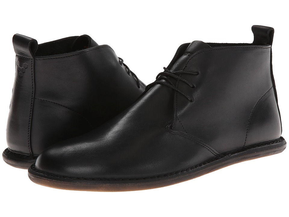 Vivobarefoot - Porto (Black Leather) Men