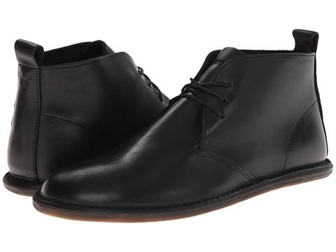 Vivobarefoot - Porto (Black Leather) Men's Shoes