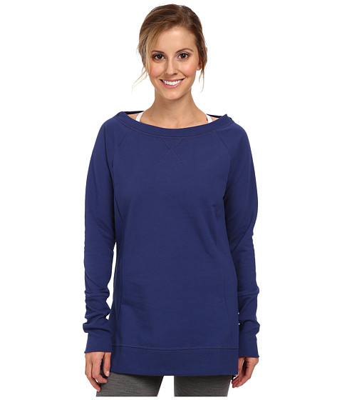 Lucy - Blissed Out L/S (Ultramarine) Women's Long Sleeve Pullover