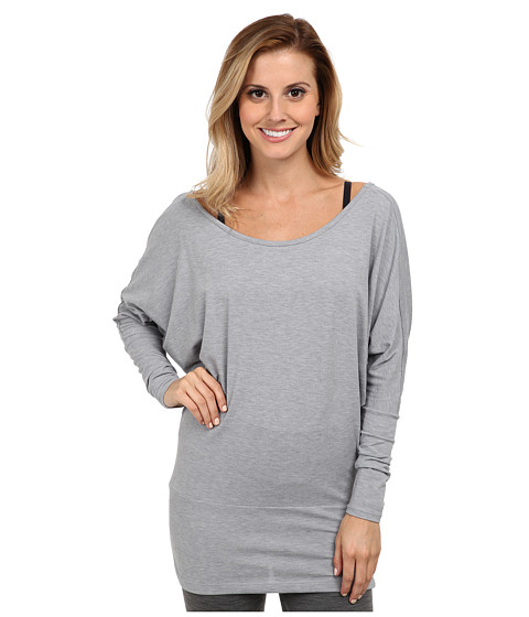 Lucy - Yoga Girl L/S (Lucy Black/Heather) Women's Long Sleeve Pullover