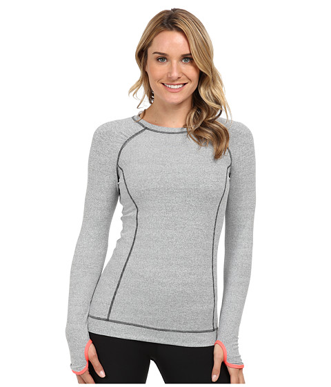 Lucy - Run Your Heart Out L/S (Fossil/Lucy White Stripe) Women's Long Sleeve Pullover