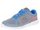 Nike Kids Flex 2014 Run (Little Kid) (Magnet Grey/Photo Blue/Hyper Crimson/Team Orange)